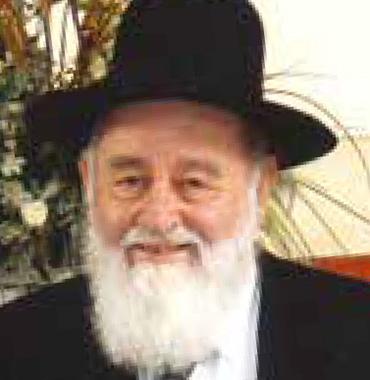 Rav Menache Ouaknine Président des Institutions de Rabbi Meir Baal Haness